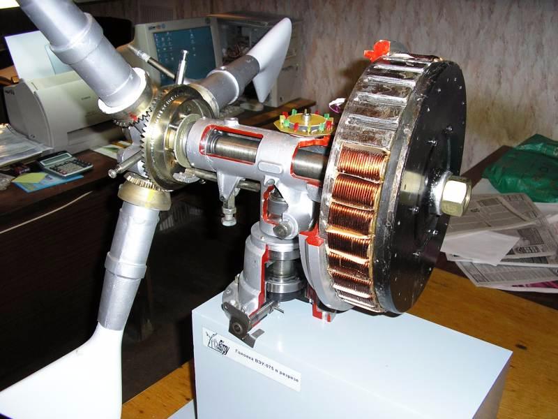 из какого двигателя проще дома зделать ветро генератор