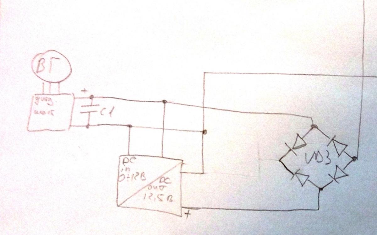 Диодный мост ветрогенератора своими руками